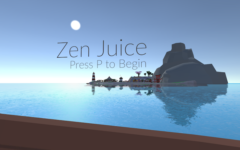 Zen Juice Title Screen